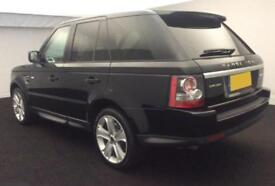 2013 BLACK RANGE ROVER SPORT 3.0 SDV6 HSE BLACK EDITION CAR FINANCE FR £71 PW