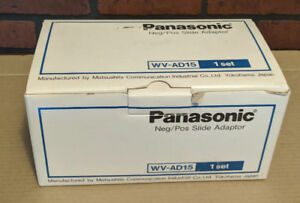 Panasonic WV-AD15A Negative Positive Slide Adaptor Kit