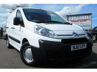 2012 12 CITROEN DISPATCH 1.6 1000 L1H1 ENTERPRISE HDI 90 BHP DIESEL