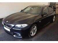 2015 BLACK BMW 530D 3.0 M SPORT DIESEL AUTO 4DR SALOON CAR FINANCE FR £79 PW