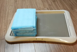 Support pipi pad + 25 tapis