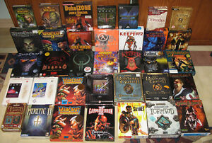 Looking to buy Big Box PC Games