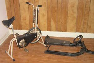Vélo stationnaire,  Skydoo, Luge, Pièces diverses