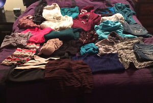 27 pieceds of clothing