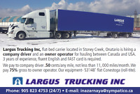 Truck driver and owner operator