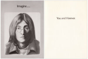 THE BEATLES 1976 THUNDER GREETINGS CARDS LENNON, McCARTNEY, STAR