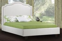 SALE 30% OFF - UPHOLSTERED FABRIC BED - DOUBLE QUEEN KING SIZE