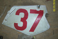 Honda CR125 CR250 left side cover side panel 1993-1997