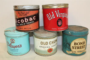 #3 Tobacco Cigarette Tins Advertising Tin Can 1/2 lb round