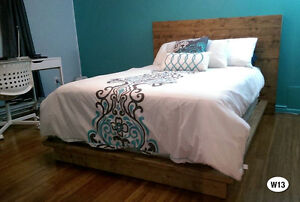 NEW RUSTIC SOLID WOOD BED FRAME  BY ORDER Cornwall Ontario image 9
