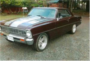 1966 Chevrolet Nova II  Coupe H/T 350 V8 *NEAR TO NEW REBUILD