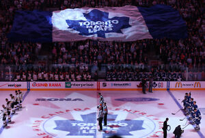 TORONTO MAPLE LEAFS TICKETS - AMAZING SEATS, PRICES AND GAMES!!!