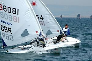 Wanter used race ready laser sail boat