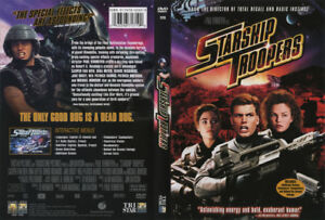 Starship Troopers DVD Version Française Incluse