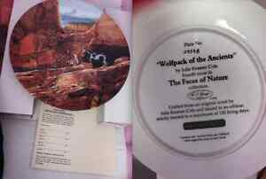 "Collector Plate - ""Wolfpack of the Ancients"" London Ontario image 1"
