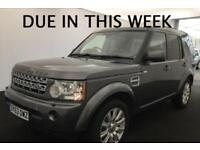 2013 (63) LAND ROVER DISCOVERY 4 XS 3.0 SDV6 AUTOMATIC 4X4 7 SEATER TURBO DIESEL