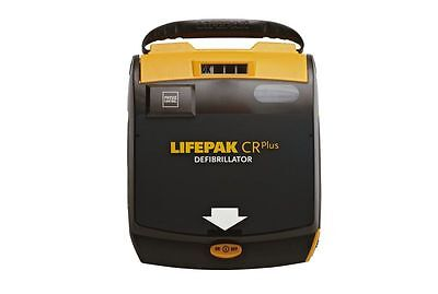 Physio-control Lifepak Cr Plus Aed New Pads Battery Carry Case-2 Yr Wrnty