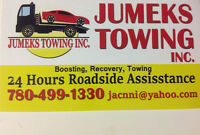 Flat Deck Towing Service.