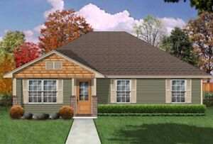 $159,000 NEWLY BUILT 3 BDR HOUSE ON YOUR LOT