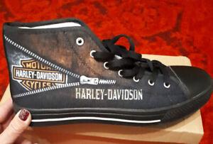 Unisex Harley Davidson high top running shoes