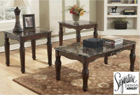 Brand NEW Ashley Coffee Table Set! Call 705-735-3344!