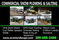 Oshawa / Whitby Commercial Snow Plowing & Salting