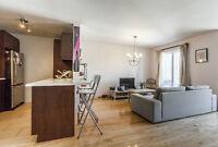 Condo 2 chambres avec balcon proche canal Lachine