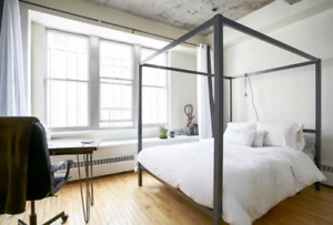 Industrial Old Port Loft for Sublet January - May