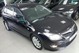 2011 HYUNDAI I30 COMFORT CRDI Black Manual Diesel