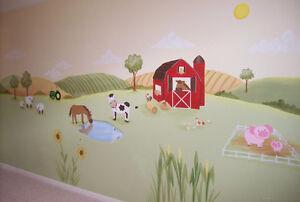 Peinture mural - Décoration chambre d'enfants West Island Greater Montréal image 5