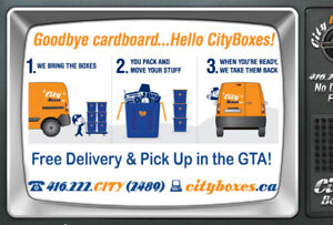 RENTAL MOVING BOXES BUSINESS FOR SALEESTABLISHED AND PROFITABLE