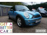 MINI COOPER 1.6 - 05 REG - 66K - £133 PM - NO DEPOSIT FINANCE