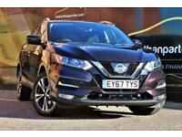 2017 Nissan Qashqai 1.2 N-CONNECTA AUTOMATIC 7,000 MILES DIG-T XTRONIC 5d 113 BH