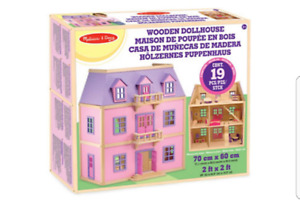 Melissa & Doug Wooden Dollhouse - New in Box Unopened
