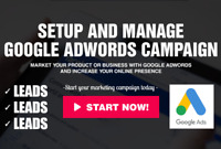 I Will Setup And Manage Your Google Adwords PPC Campaigns