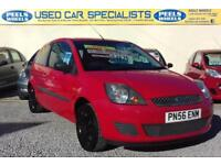 2006 (56) FORD FIESTA RED 1.25 * IDEAL FIRST CAR * FINANCE AVAILABLE * LOOK *