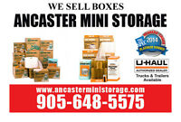 We sell Boxes to help organize your garage or home.
