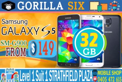 NEW GALAXY S5 SM-G900 LTE 4G 32GB UNLOCKED FULLY WORKING