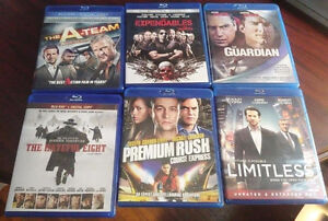 Various Blu Ray Movies As Pictured