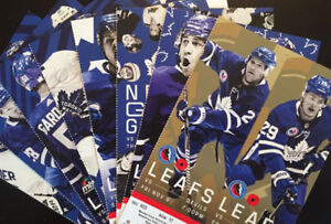 Leafs 7-Game Package Low Reds