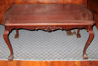 Gibbard Coffee Table Mahogany Antique Table Made By Gibbard Approx