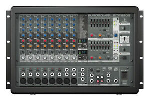 POWER MIXER EURO POWER PMP 128S WITH DUAL FX PROCESSOR