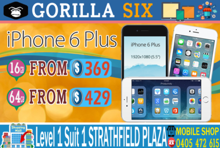 NEW & USED IPHONE 6 PLUS 128GB 64GB 16GB UNLOCKED