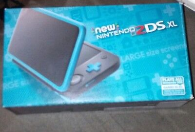 New Nintendo 2Ds Xl   Black   Turquoise