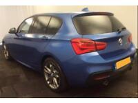 2016 BLUE BMW M135i 3.0 T SPORT PETROL AUTO 5DR HATCHBACK CAR FINANCE FR 79 PW