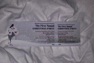 The 1st Annual CHRISTMAS PARTY