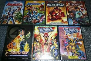 MARVEL Animated Features Lot of 7 Bundle