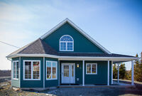 Newly Built Cottage Style Home, Witless Bay, NL