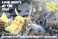 LOOK WHO'S AT THE ZOO......POKEMON?