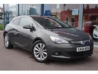 2014 VAUXHALL ASTRA GTC 1.4T 16V SRi LEATHER, DAB and ALLOYS
